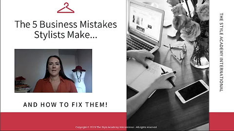 The 5 Business Mistakes Stylists make...and how to fix them!