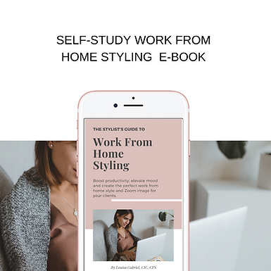 self-study Work from Home Styling E-book