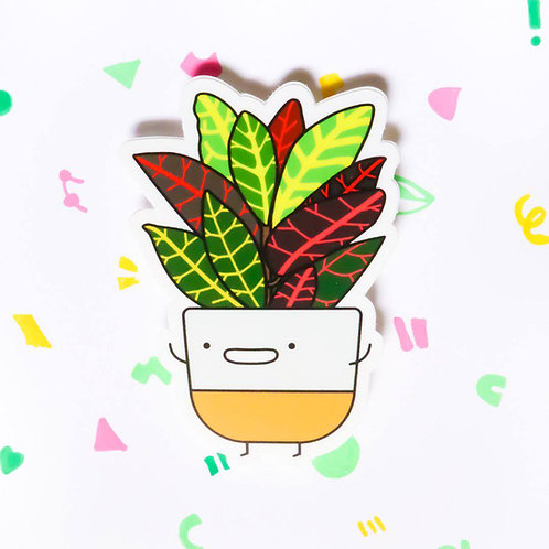 CROTON, VINYL STICKER