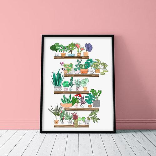 PLANT SHELFIE POSTER
