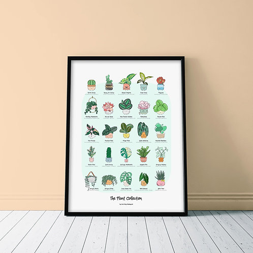 THE PLANT COLLECTION POSTER
