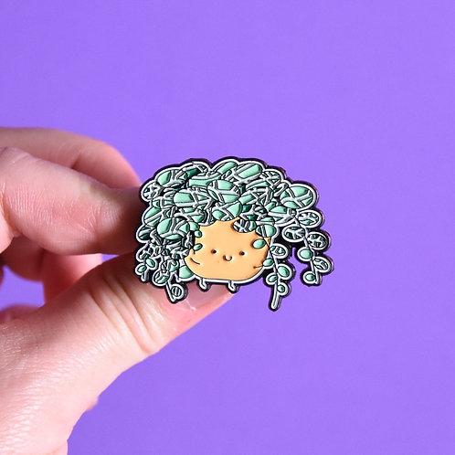 STRING OF TURTLES ENAMEL PIN