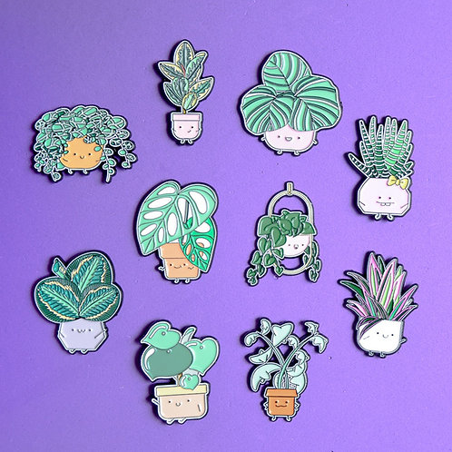 LEAFY PIN BUNDLE (SET OF 10)