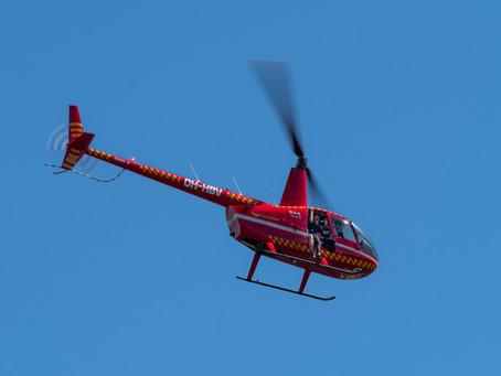 Tandemhyppy helikopterista
