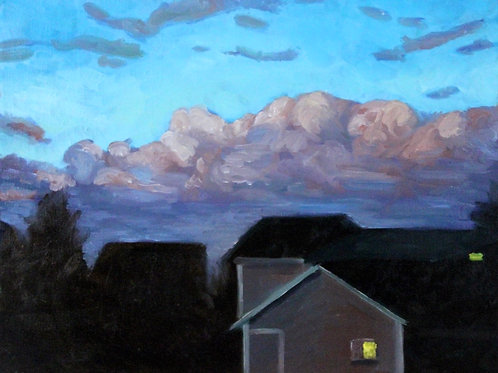 Dusk (canvas) small