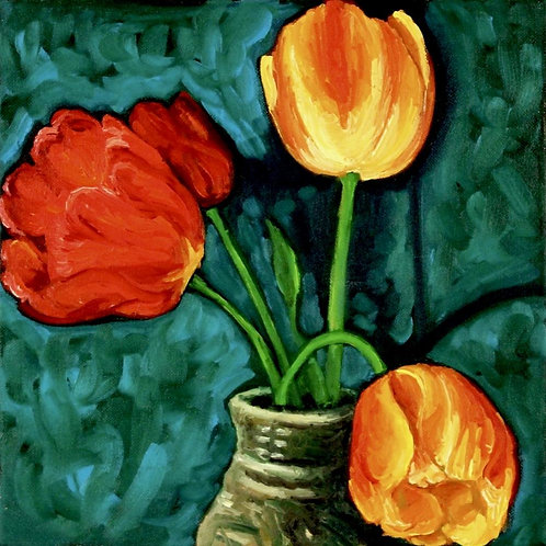 Tulips (canvas) large