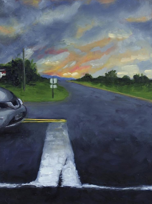 Emer's Intersection (canvas) small