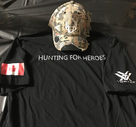 Hunting for Heroes T-Shirt - T-SHIRT ONLY