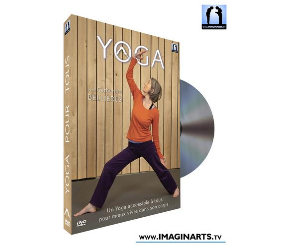 """DVD """"Yoga pour tous"""" de Catherine Bellières"""