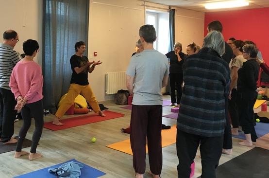 Stage de Yoga dans les Côtes d'Armor.