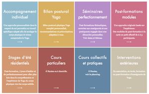 Prestation Yoga de Cath Bellières et Serge Gastineau