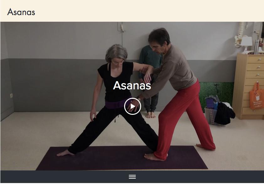 Lien vers les vidéos d'Asanas !