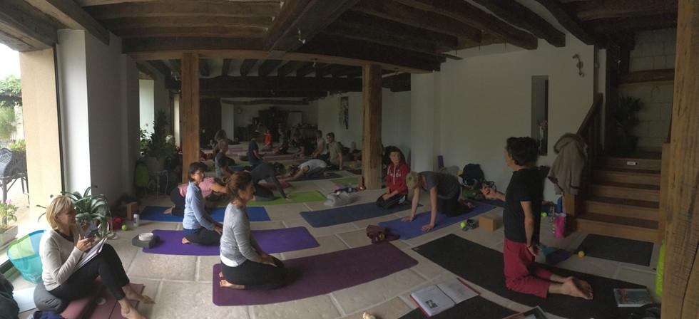 Formation enseignants de Yoga.
