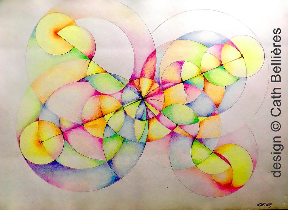 Mandala : variation de la fleur de vie