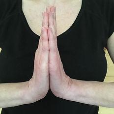 Namasté-Mudra ou Anjali-Mudra