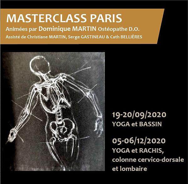 Masterclass Yoga et Ostéopathie à Paris