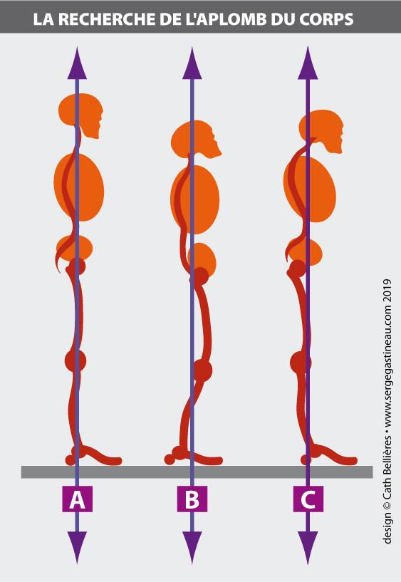 L'aplomb du corps