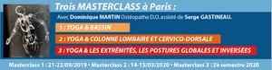 Les trois Masterclass exceptionnelles de Dominique Martin