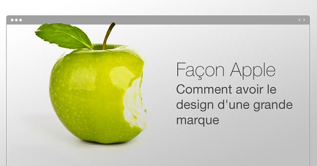 Mieux qu'Apple ! Comment créer un site digne d'une grande entreprise ?
