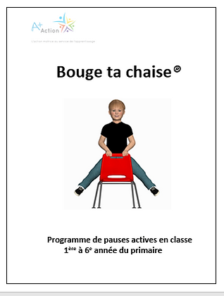 3. Bouge ta chaise® + formation + accompagnement