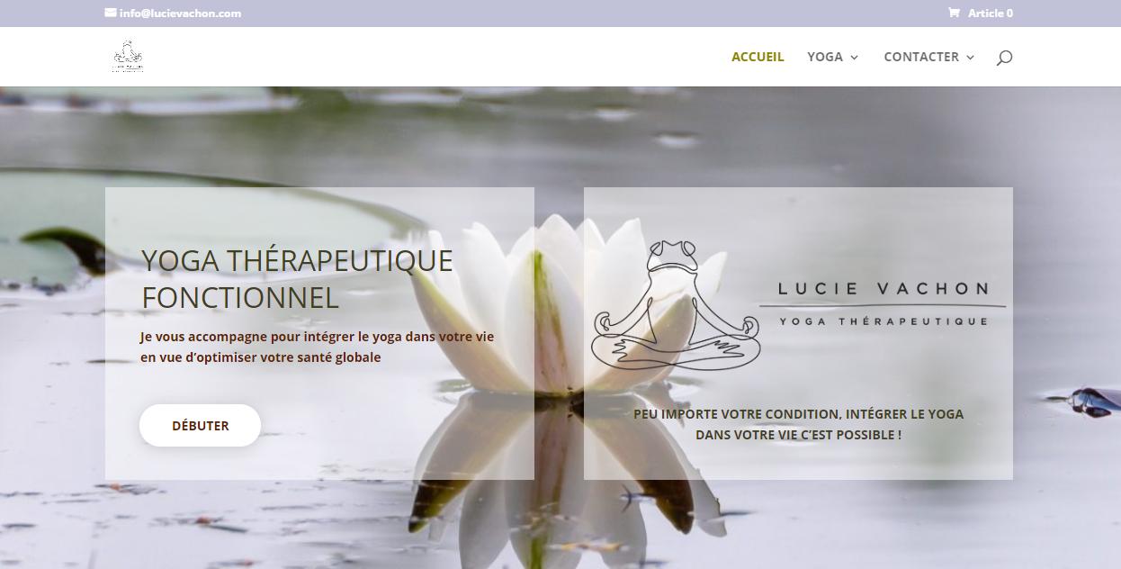 Lucie Vachon | Yoga Thérapeutique