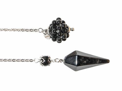 Pendule obsidienne