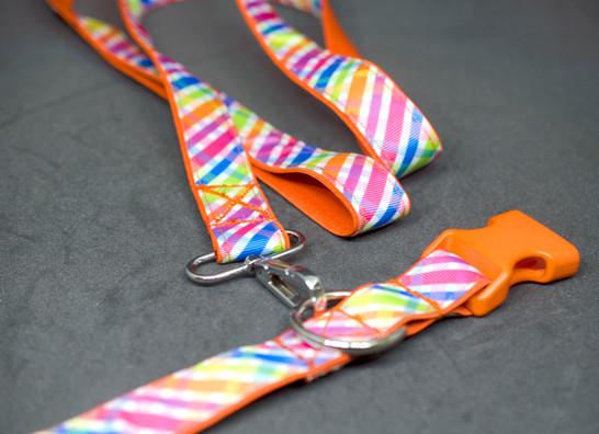 Neon Cross Stripes