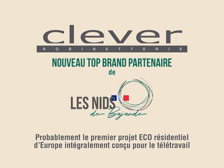 CLEVER.- TOP BRAND PARTNER DE LES NIDS DE BAJANDE