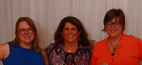 Wendy Klepcyk, Kelly Dehan and Sarah Kleiner