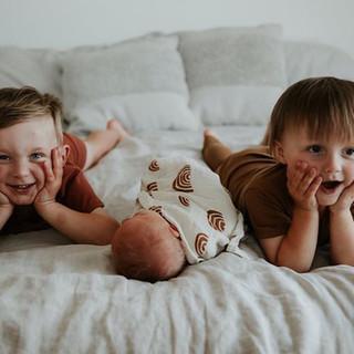 three chilliwack midwifery boys!