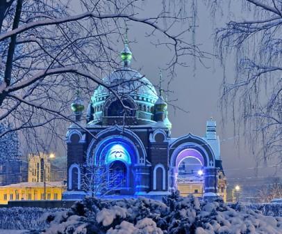 Липецк зимой