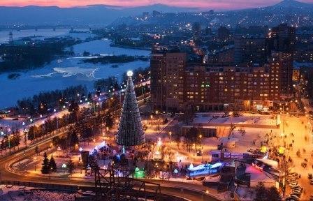 Кемерово зимой