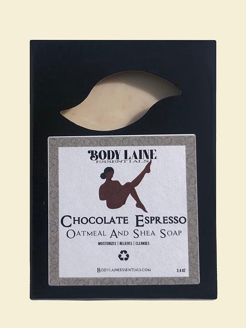 Chocolate Espresso Oatmeal & Shea Soap