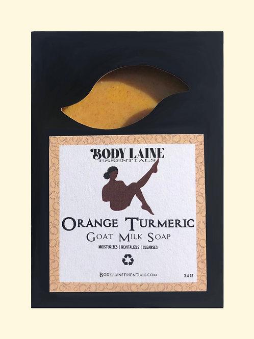 Orange Turmeric Goat Milk Soap