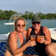 Happy Hour on deck