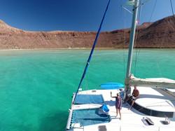 Isla Partida anchorage SOC
