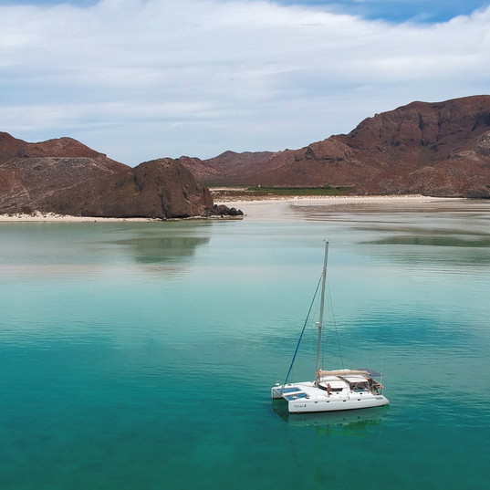 Anchored in the Sea of Cortez