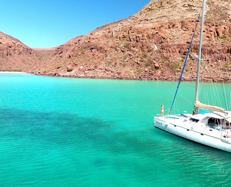 Catamaran charter Mexico