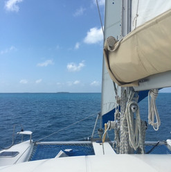 Sailing with the Mainsail