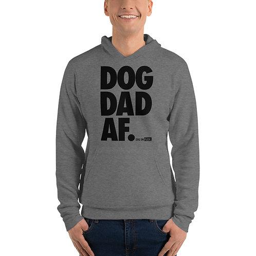 Dog Dad AF: Men's Hoodie