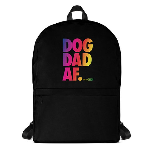 Dog Dad AF Pride: Backpack