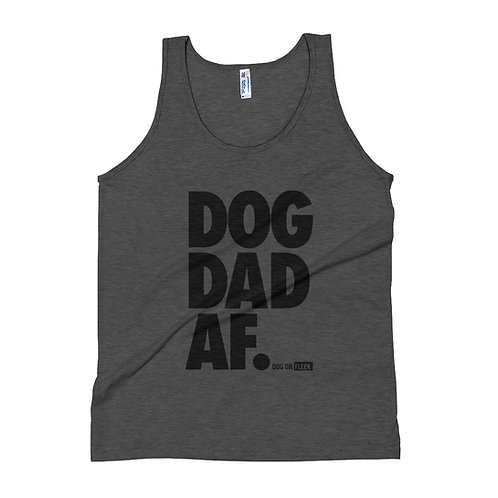 Dog Dad AF: Tank Top