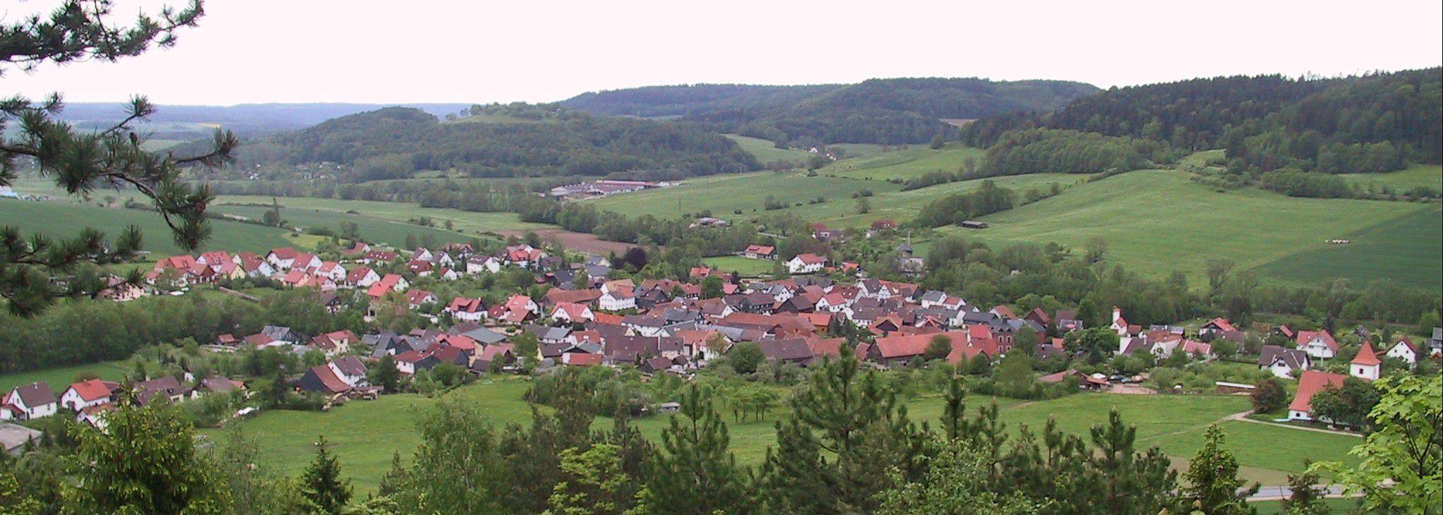 Panorama vom Kirchberg