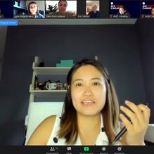 AI4Youth Canada Finance Panel Sarah Sun.