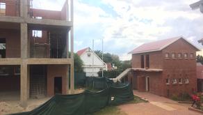 New buildings in the school!