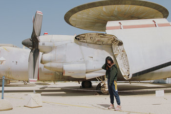 A tour at Hatzerim Israel Air Force Museum on Independence Day 2018