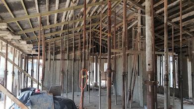 מתהליך בניית הגג