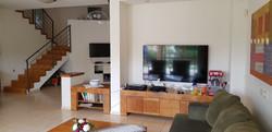 קיר הטלויזיה לפני השיפוץ