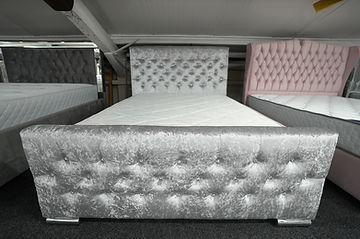 Galaxy Silver Bed Frame