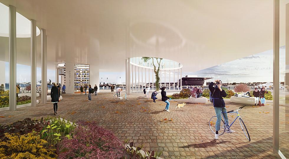 Modern Library in Copenhagen